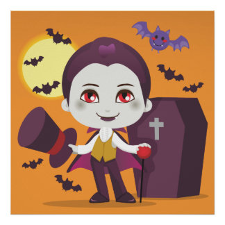 Little Count Dracula Posters