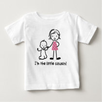 Little Cousin Stick Figure t-shirts