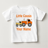 9b6bf29e1 Little Cousin Truck Personalized T-shirt