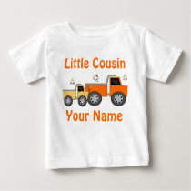 Little Cousin Truck Personalized T-shirt