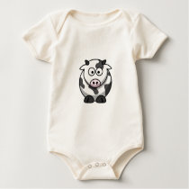 Little Cow Baby Bodysuit