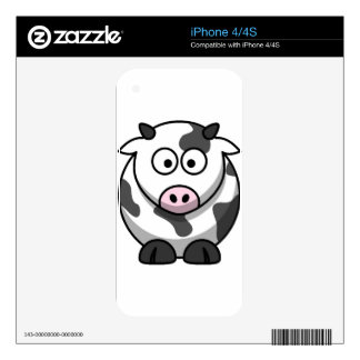 Little Cow iPhone 4S Decals