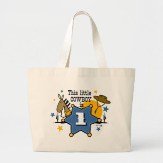 Little Cowboy 1st Birthday Bag