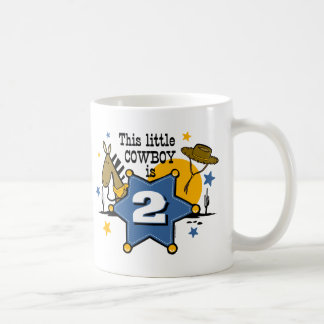 Little Cowboy 2nd Birthday Mug