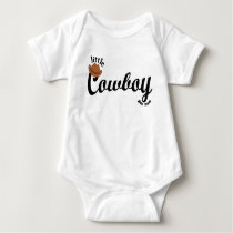 little Cowboy Baby Bodysuit