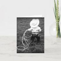 Little Cowboy Card