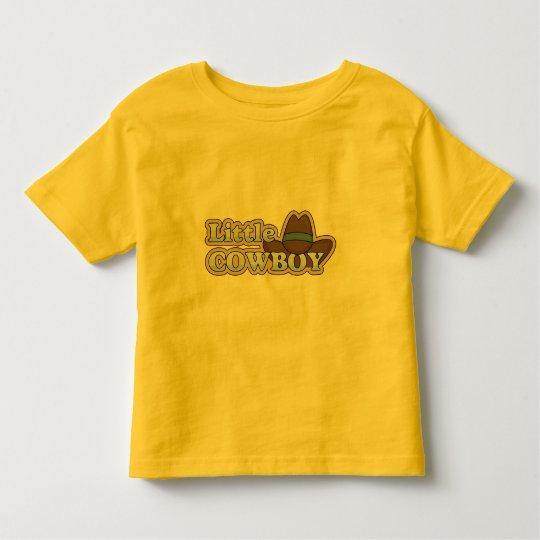 Little Cowboy Hat - Boys Western Toddler T-shirt