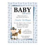Little Cowboy Horseshoes Baby Shower Invitations