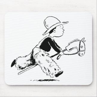Little Cowboy Mouse Pad