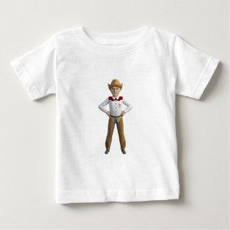 Little Cowboy Sheriff Baby T-Shirt