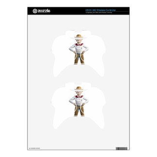 Little Cowboy Sheriff Xbox 360 Controller Skin