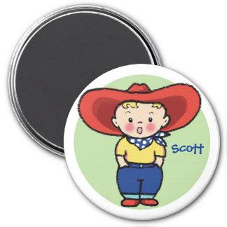 Little Cowboy - Speaking Magnet