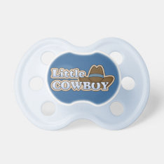 Little Cowboy Western Hat Pacifier at Zazzle