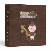 Little Cowboy with his Horse Avery Binder