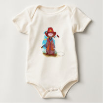 Little Cowgirl Baby Bodysuit