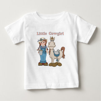Little Cowgirl Baby T-Shirt