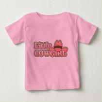 Little Cowgirl - Girls Western Baby T-Shirt