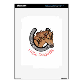 Little Cowgirl iPad 3 Skins