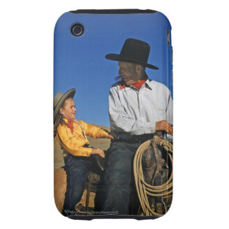 Little Cowgirl iPhone 3 Tough Case