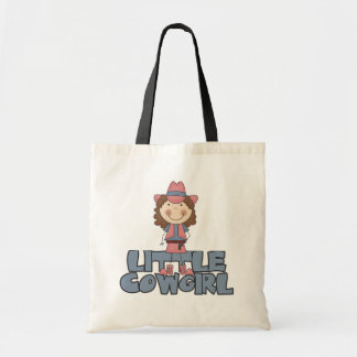 Little Cowgirl Pink Tshirts and Gifts Canvas Bags