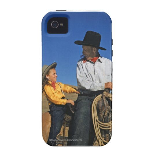 Little Cowgirl Vibe iPhone 4 Cover