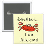 Little Crab Tshirts and Gifts Pinback Buttons