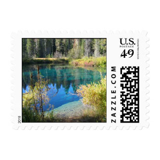 Little Crater Lake Postage