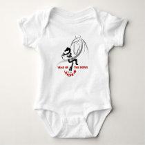 Little Crawler's Year of the Horse Baby Bodysuit