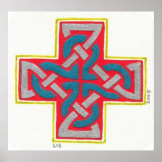 Little Cross print