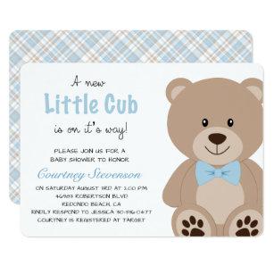 Teddy Bear Invitations Zazzle