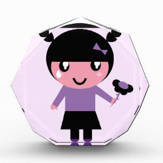 Little cue EMO girl purple Award