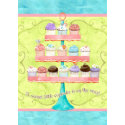 Little Cupcake, Baby Shower Invitations invitation
