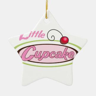 Little Cupcake Ceramic Ornament