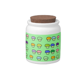 Little Cupcakes Candy Jar