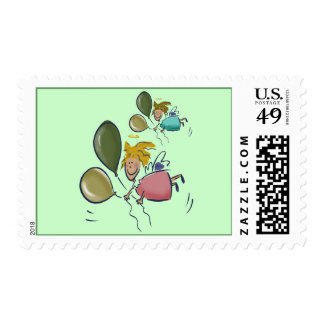 Little Cupids T-shirts and Gifts Postage Stamp