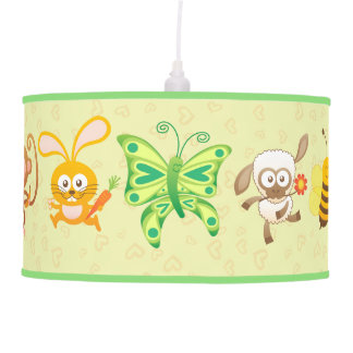 Little Cute Animals Festival Hanging Lamp