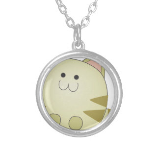 Little Cute Cat Silver Plated Necklace