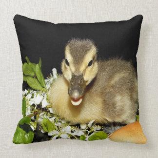 little cute duck throw pillow