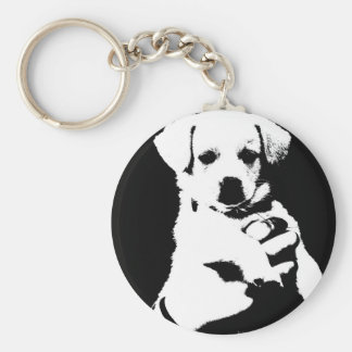 little cute puppy dog keychain