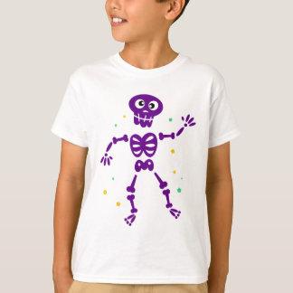 Little cute purple Dancing skeleton T-Shirt
