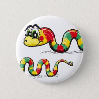 Little Cute Snake Pinback Button