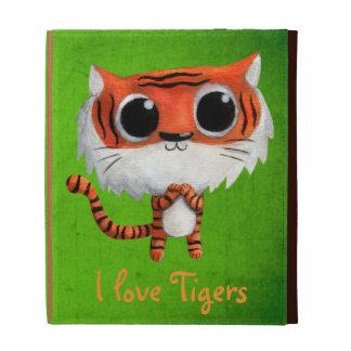 Little Cute Tiger iPad Case