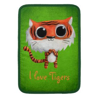 Little Cute Tiger MacBook Sleeve