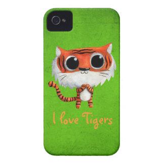 Little Cute Tiger iPhone 4 Case-Mate Case