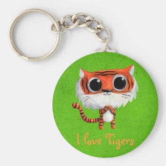 Little Cute Tiger Key Chain