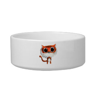 Little Cute Tiger Pet Food Bowl