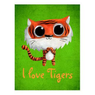 Little Cute Tiger Postcard