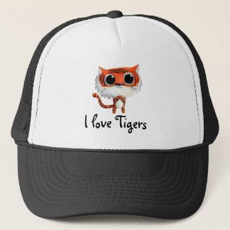 Little Cute Tiger Trucker Hat