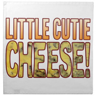 Little Cutie Blue Cheese Cloth Napkin