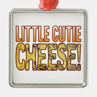 Little Cutie Blue Cheese Metal Ornament